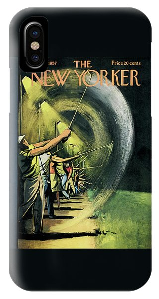 New Yorker June 15th, 1957 IPhone Case