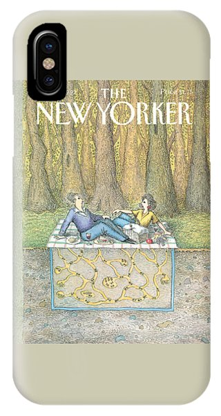 Ant iPhone Case - New Yorker June 15th, 1992 by John O'Brien