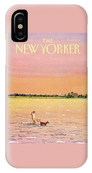 New Yorker June 16th, 1986 IPhone Case