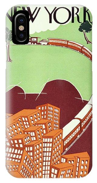 New Yorker June 19 1926 IPhone Case
