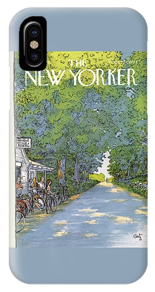 New Yorker June 21st, 1976 IPhone Case