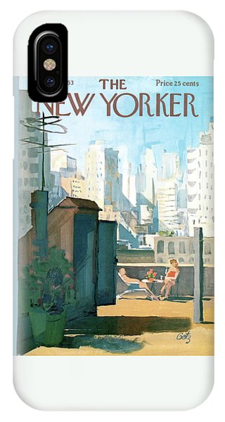 New Yorker June 22nd, 1963 IPhone Case