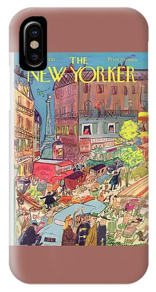 New Yorker June 24th, 1950 IPhone Case