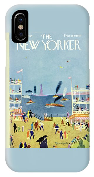 Representation iPhone Case - New Yorker June 25 1932 by Arthur K. Kronengold