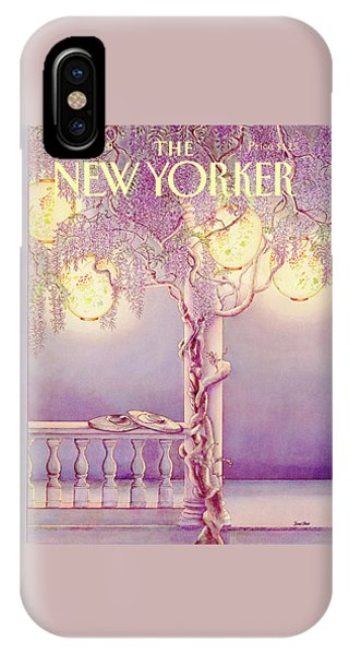 Porch iPhone Case - New Yorker June 29th, 1981 by Jenni Oliver