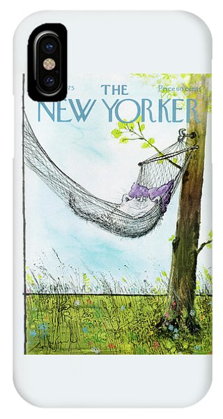 New Yorker June 30th, 1975 Phone Case by Ronald Searle