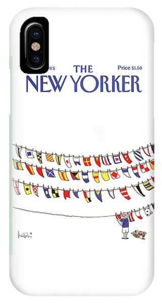 New Yorker June 3rd, 1985 IPhone Case