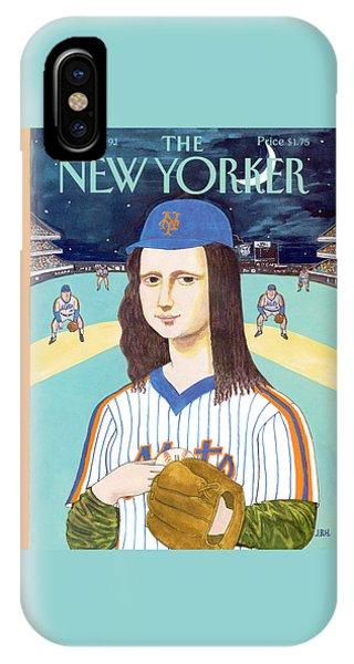 New York Mets iPhone Case - New Yorker June 3rd, 1991 by J.B. Handelsman