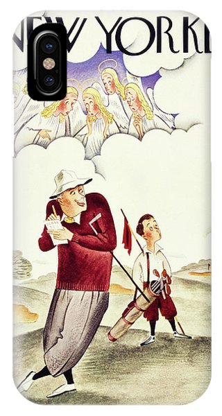 New Yorker June 6 1936 IPhone Case