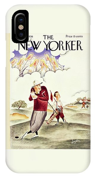 Representation iPhone Case - New Yorker June 6 1936 by Constantin Alajalov