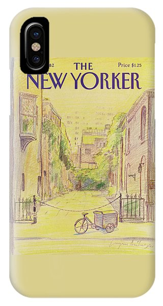 New Yorker June 7th, 1982 IPhone Case