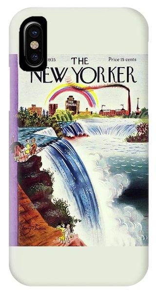 New Yorker June 8 1935 IPhone Case