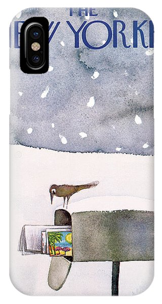 New Yorker March 10th, 1980 IPhone X Case