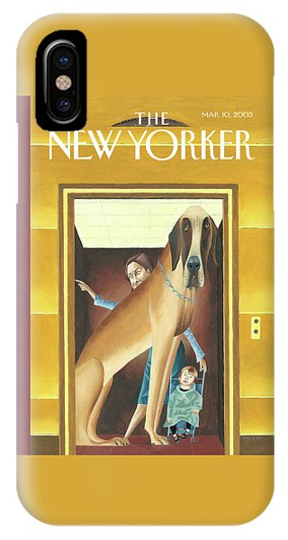 New Yorker March 10th, 2003 IPhone Case
