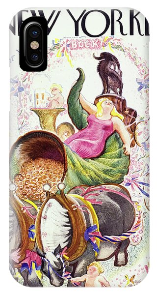 New Yorker March 12 1938 IPhone Case