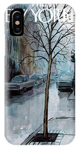 Wet iPhone Case - New Yorker March 12th, 1966 by Arthur Getz