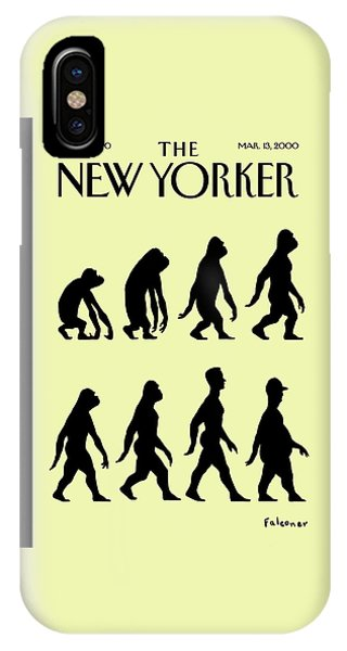 New Yorker March 13th, 2000 IPhone Case