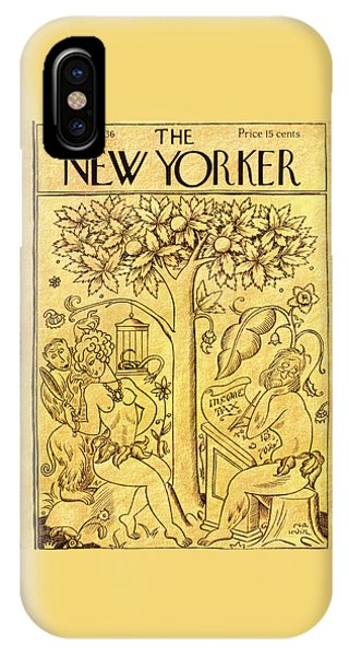 New Yorker March 14 1936 IPhone Case