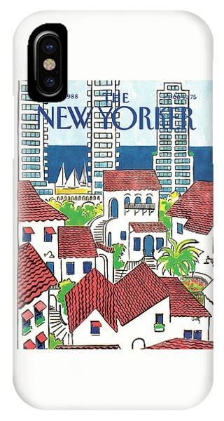 New Yorker March 14th, 1988 IPhone Case