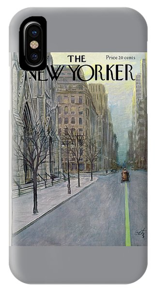 New Yorker March 16th, 1957 IPhone Case