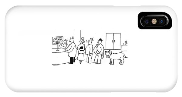 New Yorker March 1st, 1941 IPhone Case