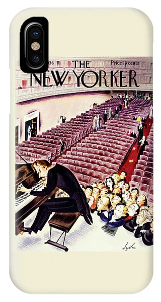 Representation iPhone Case - New Yorker March 21 1936 by Constantin Alajalov
