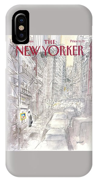 New Yorker March 21st, 1988 IPhone Case