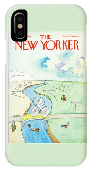 New Yorker March 26th, 1966 IPhone Case