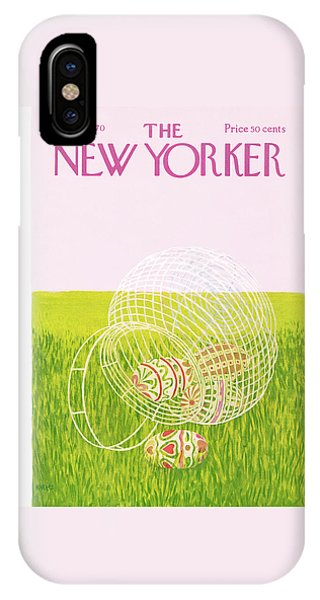 New Yorker March 28th, 1970 IPhone Case