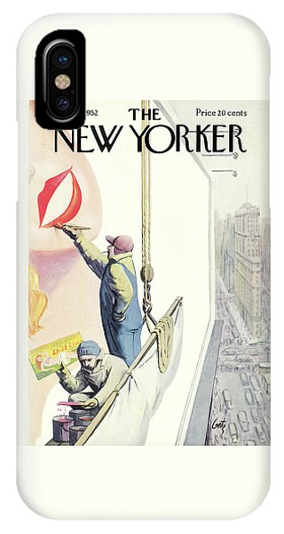 New Yorker March 29th, 1952 IPhone Case