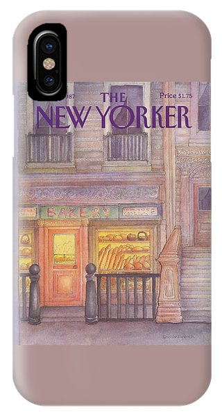 New Yorker March 30th, 1987 IPhone Case
