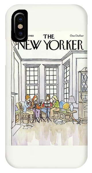 New Yorker March 3rd, 1980 IPhone Case