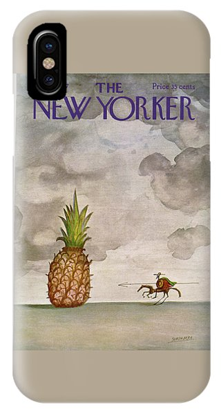 New Yorker March 4th, 1967 IPhone X Case