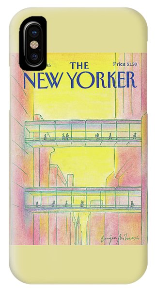 New Yorker March 4th, 1985 IPhone Case