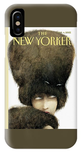 New Yorker March 4th, 2002 IPhone Case