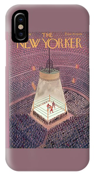 New Yorker March 8th, 1930 IPhone Case
