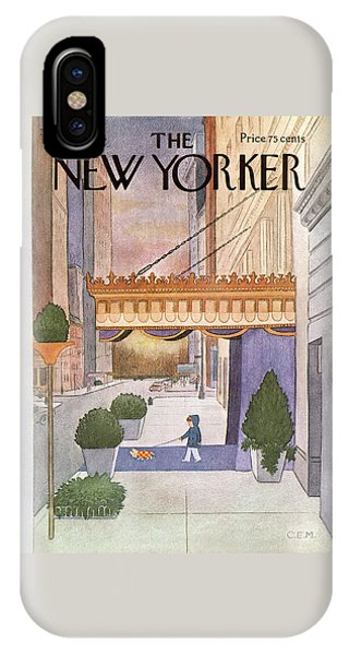 New Yorker March 8th, 1976 IPhone Case