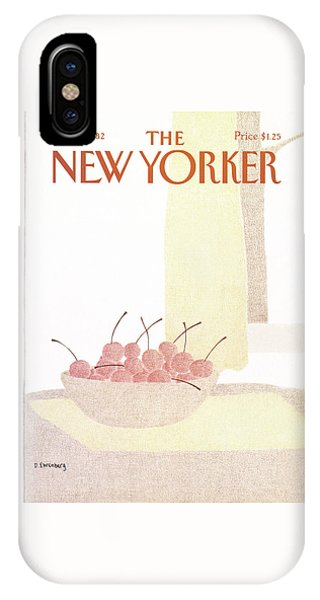 New Yorker March 8th, 1982 IPhone X Case
