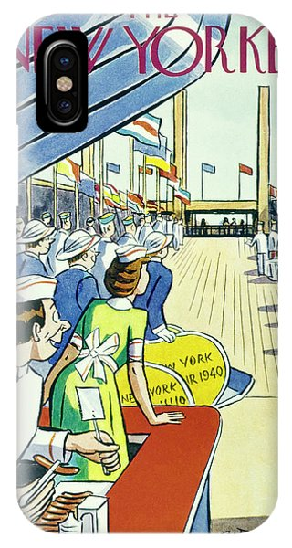 New Yorker May 11 1940 IPhone Case