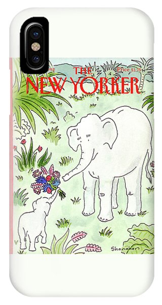 New Yorker May 11th, 1992 IPhone Case