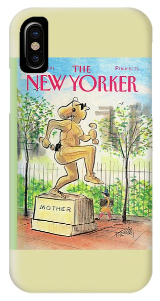 New Yorker May 13th, 1991 IPhone Case