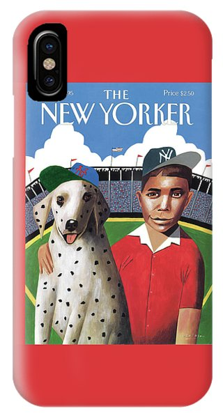 New York Mets iPhone Case - New Yorker May 1st, 1995 by Mark Ulriksen