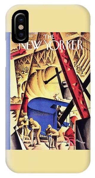 Magazine Cover iPhone Case - New Yorker May 2 1931 by I. G. Haupt