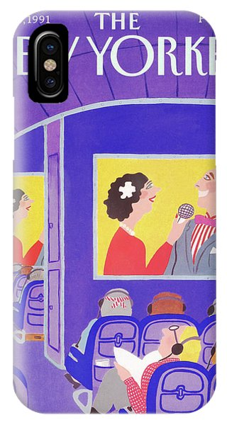New Yorker May 20th, 1991 IPhone Case