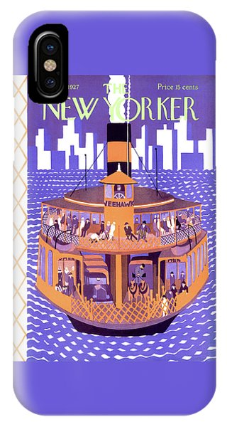 New Yorker May 21st, 1927 IPhone Case