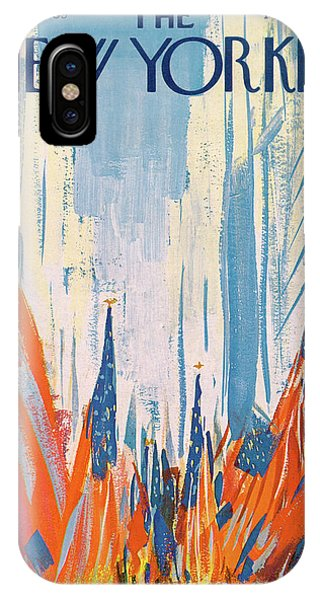 New Yorker May 29th, 1965 IPhone X Case