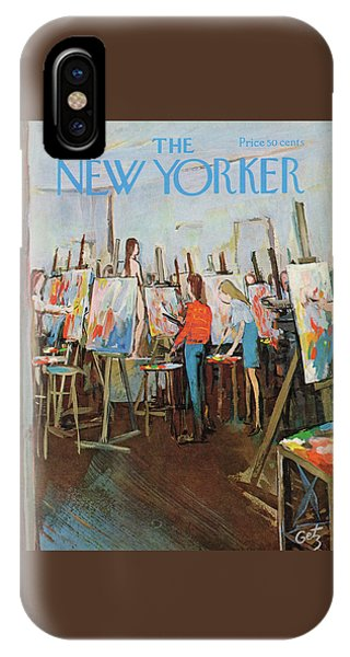 New Yorker May 2nd, 1970 IPhone Case