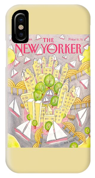 New Yorker May 2nd, 1988 IPhone Case
