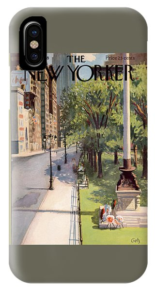New Yorker May 31st, 1958 IPhone Case