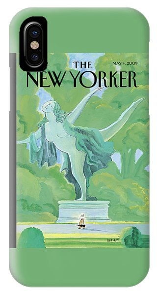 New Yorker May 4th, 2009 IPhone Case